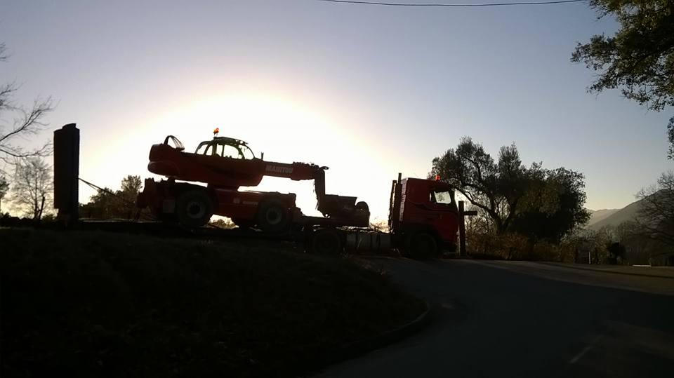 Transport Engin de chantier